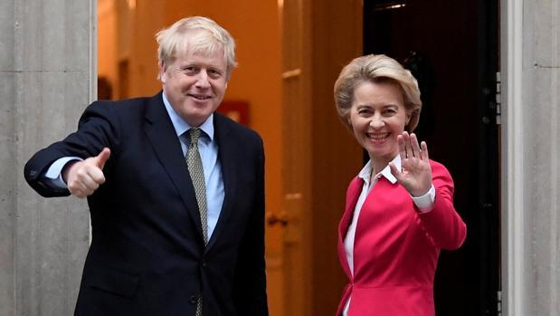 Johnson y Von der Leyen asumen las riendas para buscar in extremis un acuerdo pos-Brexit