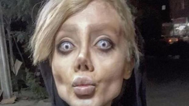 Diez años de cárcel para la «instagramer» iraní famosa por publicar fotos como una Angelina Jolie «zombie»