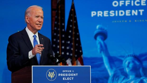 Biden ataca con dureza a Trump: «Es hora de pasar de página»