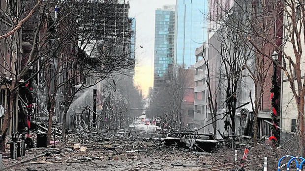 La novia del atacante de Nashville le dijo a la policía el año pasado que estaba fabricando bombas