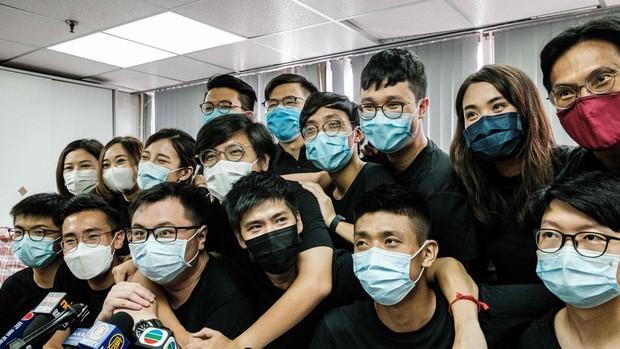 Detenidos 50 políticos de Hong Kong por las primarias del bando demócrata al Parlamento