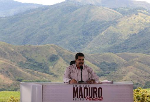 El líder chavista, Nicolás Maduro