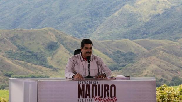 Maduro decreta establecer un nuevo territorio en una rica región en disputa con Guyana