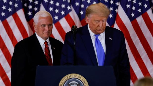 Mike Pence, vicepresidente de EE.UU., se niega a inhabilitar a Trump