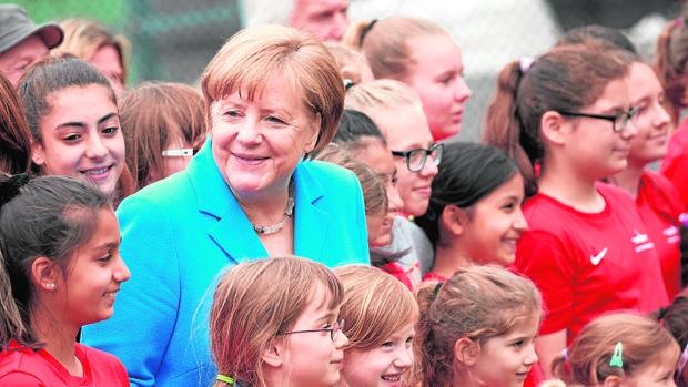 La generación que solo ha conocido a Merkel