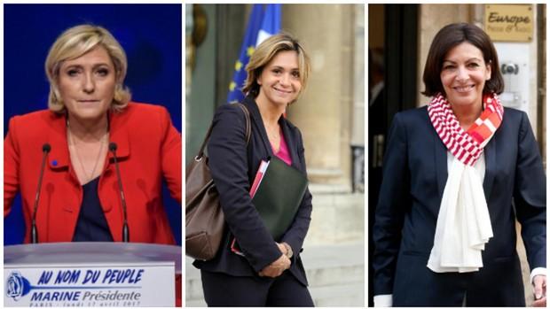 Le Pen, Pécresse, Hidalgo, tres mujeres que aspiran a suceder a Macron
