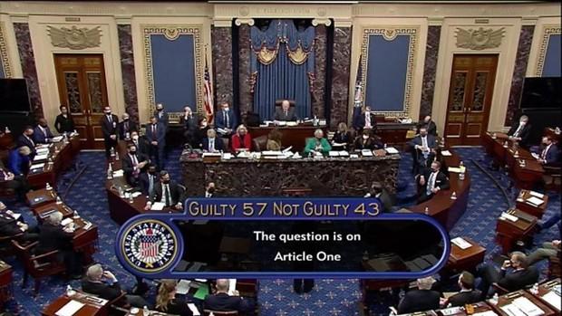 Trump, absuelto en su segundo ?impeachment? pese a que siete republicanos votan condenarlo
