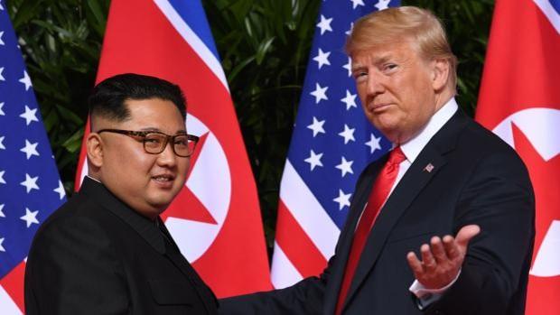 Trump ofreció a Kim Jong-un volar en el avión presidencial, según la BBC