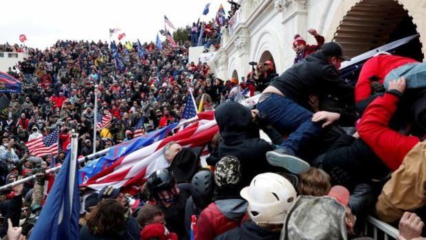 La policía advierte de una amenaza de otro ataque al Capitolio este jueves
