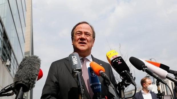 La directiva de la CDU respalda a Laschet como candidato a la Cancillería alemana