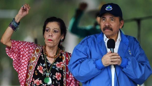 La Eurocámara pide sanciones directas contra Daniel Ortega y Rosario Murillo