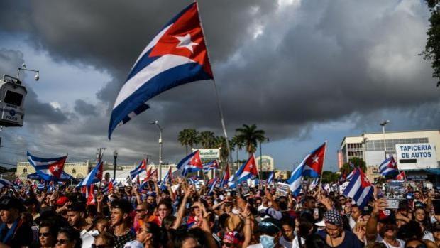 España queda fuera de la coalición de EE.UU. para condenar la represión en Cuba