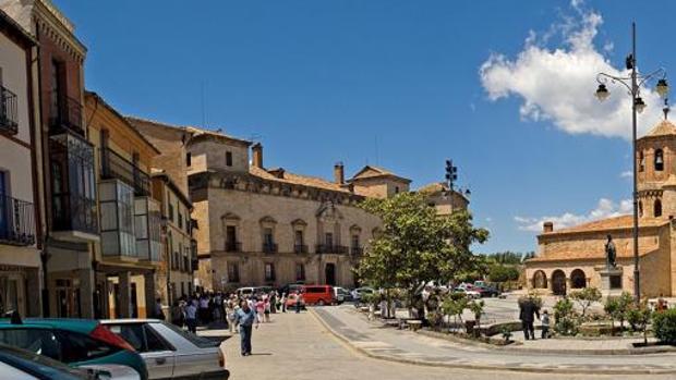 Imagen de archivo de Almazán (Soria), donde cayó el Gordo de la Lotería de Navidad en 2006