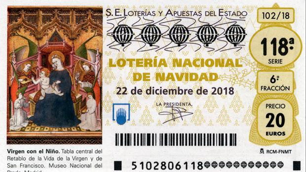 El Significado De Cada Componente De Un Décimo De Lotería De Navidad 2018