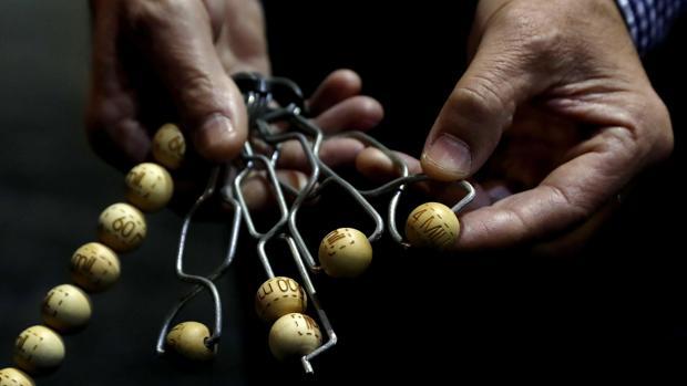 Imagen de las bolas con los premios de este año