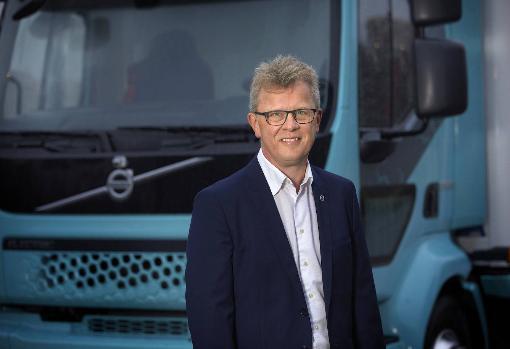 Roger Alm, presidente de Volvo Trucks