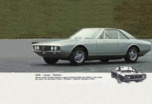 Promotional image of the Lancia Marica