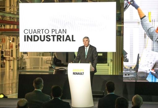 José Vicente de los Mozos, President and CEO of Renault Spain