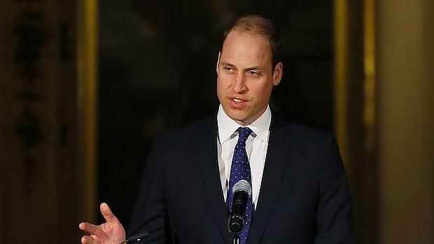 El Duque Cambridge intervino en el acto, celebrado en el Palacio de Buckingham