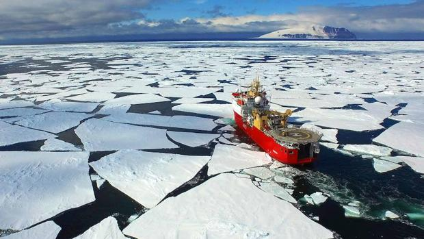 A los científicos les ha sorprendido que el proceso de deshielo del océano Antártico suelte tal cantidad de nitrógeno orgánico