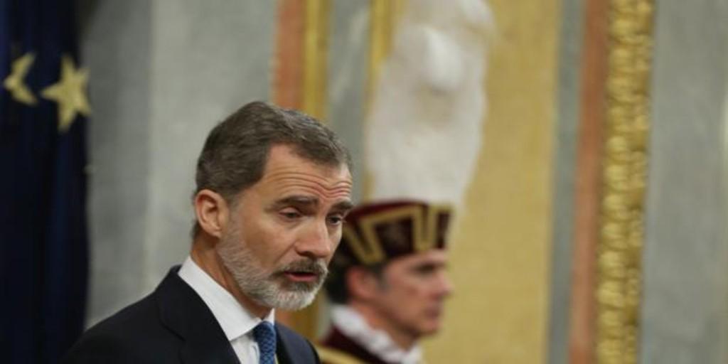 Habla el Rey, los separatistas insultan...