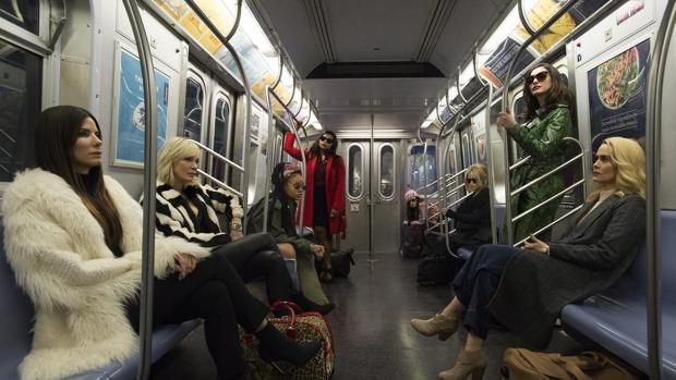 Imagen de «Ocean's Eight», distribuida por Warner