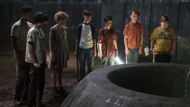 El grupo de «Los perdedores» en la película «It»