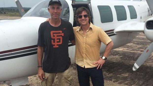 Alan Purwin y Tom Cruise