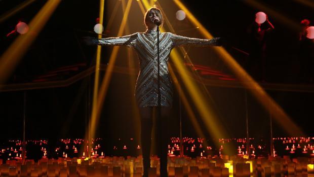 Amaia interpretó «Shake it out», de Florence and The machine
