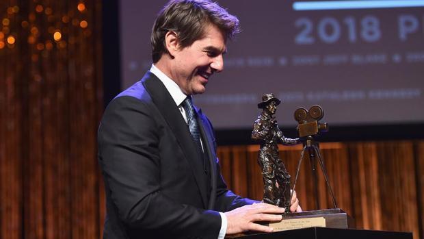 Tom Cruise recoge el premio