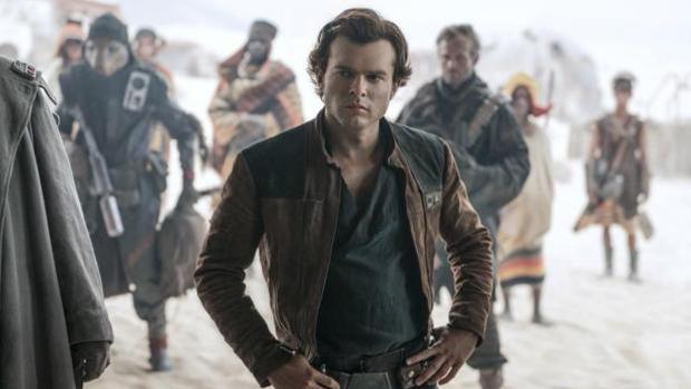 Escena de «Han Solo: Una historia de Star Wars»