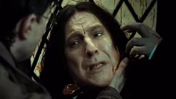 El fallecido Alan Rickman itnerpretó a Snape en Harry Potter