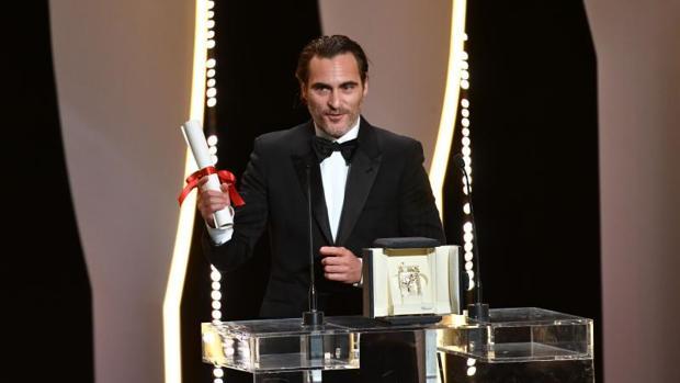 Joaquin Phoenix durante el Festival de Cannes de 2017