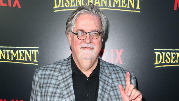 Matt Groening, en la presentación de «(Des)encanto»