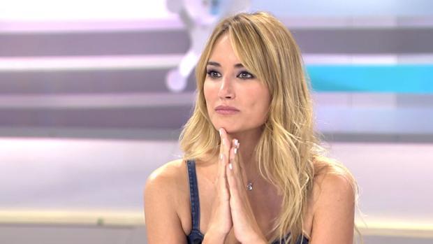 Alba Carrillo, como colaboradora en «Ya es mediodía»