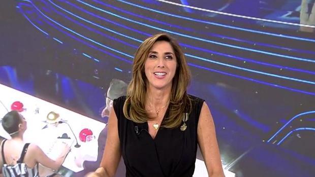Paz Padilla, en «Sálvame», haciendo público su nuevo papel en «Got Talent España»