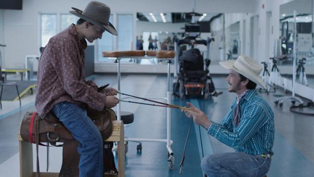 Scott Lane y Brady Jandreu, en «The Rider»