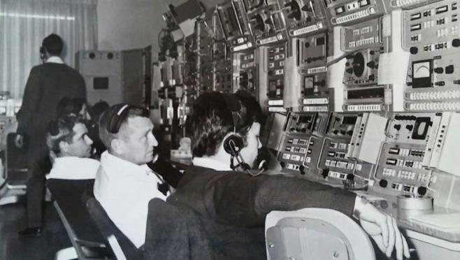 González Pintado, «rodeado de americanos» en la estación de Fresnedillas a finales de 1968