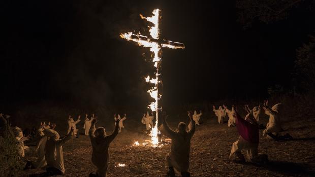 Escena de «Infiltrado en el KKKlan»