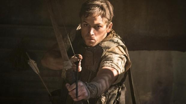 Taron Egerton en «Robin Hood»