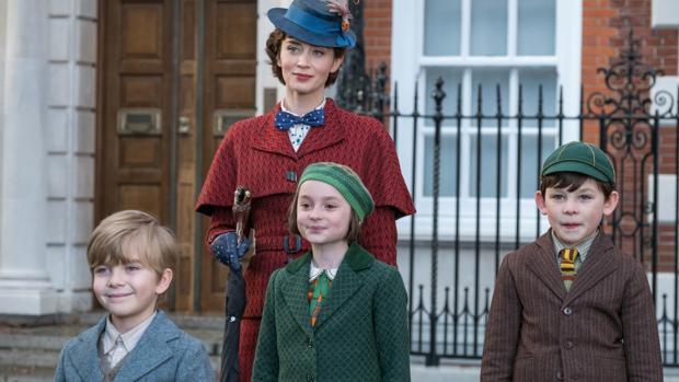 8e7105c84 El regreso de Mary Poppins: Mary Poppins, la superheroína en paraguas