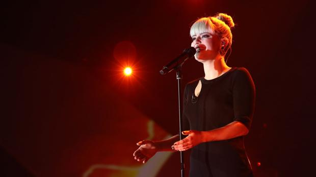 Alba Reche, interpretando «She used to be mine» en «OT 2018»