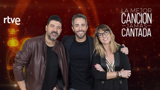 Roberto Leal, Noemí Galera y Tony Aguilar