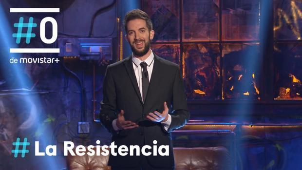 David Broncano, presentador de «La Resistencia»