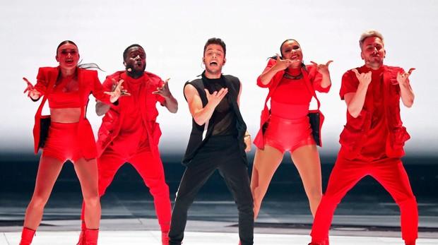 Luca Hanni (Suiza) es uno de los favoritos de la segunda semifinal de Eurovisión