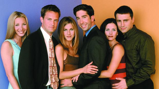 El cambio físico de los protagonistas de «Friends»