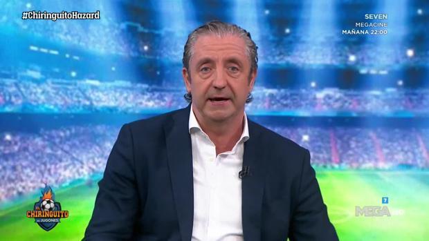 Josep Pedrerol, el jueves en «El chiringuito»