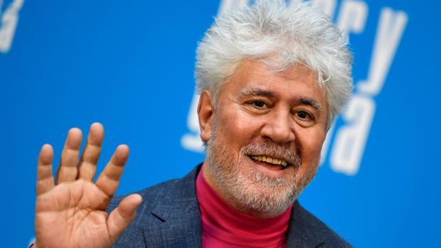 Pedro Almodóvar, durante la presentación de Dolor y Gloria en Madrid el pasado mes de marzo