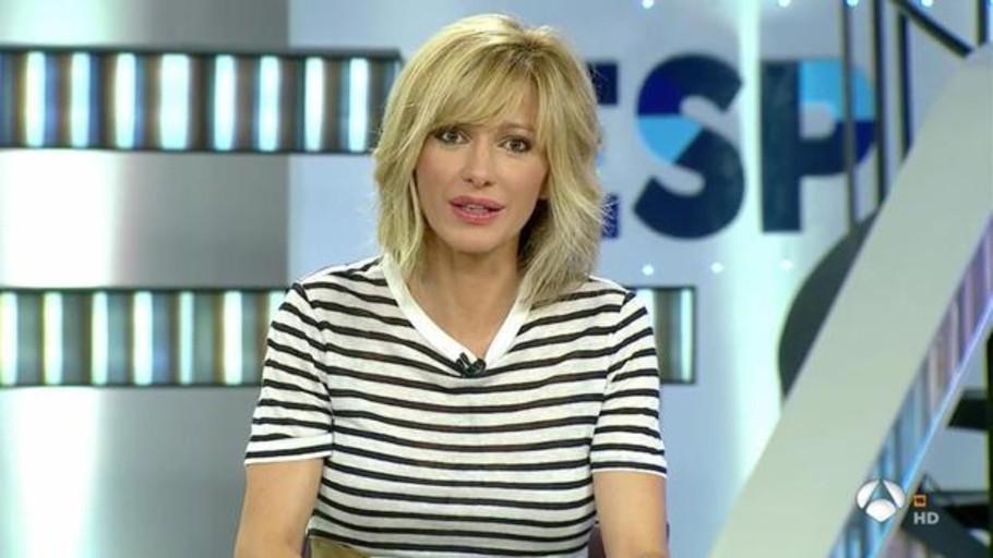 Susanna griso abandona en directo espejo p blico por la for Antena 3 espejo publico hoy