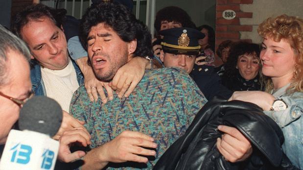 Escena de «Diego Maradona»